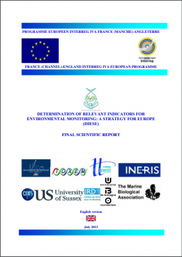 Determination of relevant indicators for environmental monitoring a strategy for Europe DIESE.PNG